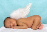 Angel newborn baby