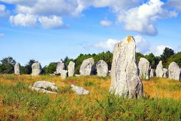 Menhirs à Carnac