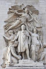 Arc de Triomphe, Le Triomphe de 1810 sculpture