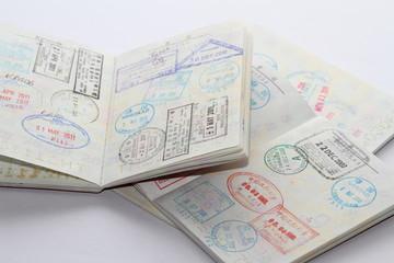 パスポートの査証