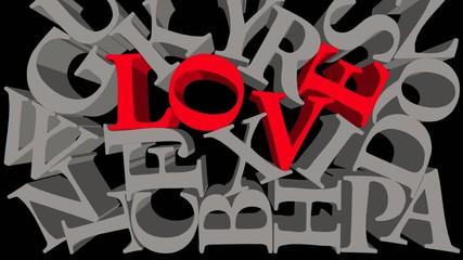 Ich liebe das Alphabet