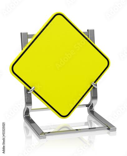 Das Straßenschild