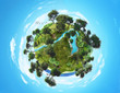 small green planet