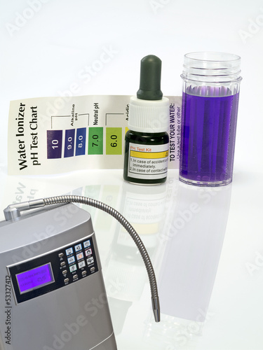 Alkaline water ionizer test ph reagent