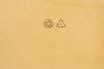 Blank recycled paper