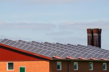 Photovioltaik auf landwirtschaftlichem Gebäude