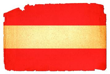 Grungy Flag - Austria