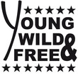 Young Wild And Free Stars Design