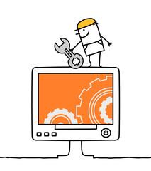 maintenance & computer