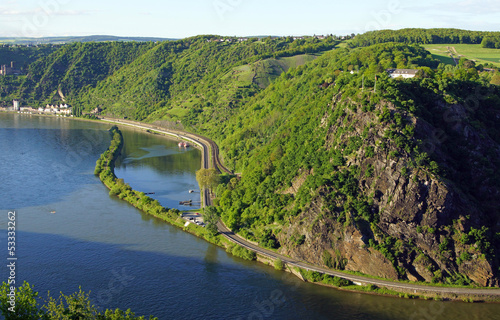 Loreley Felsen am Rhein - Mittelrheintal - Germany