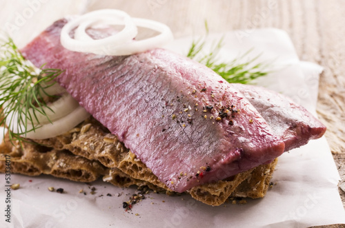 pickled fish fillet