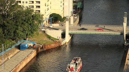 Sightseeing boat in Berlin