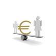 gender, frau, mann, euro,
