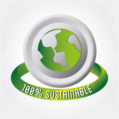 100 percent sustainable