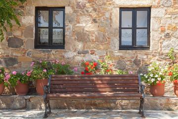 idyllischer Platz in Antimachia auf der Insel Kos