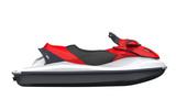 Jet Ski Isolated on White Background