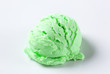 Scoop of green ice-cream