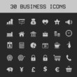 Light Business Design elements icon set