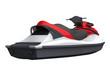 Jet Ski Isolated on White Background - 53337648
