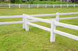 Stable White Fence