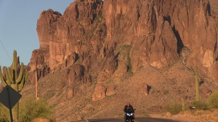 Motorcycle Mountain Road