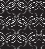 Abstract seamless pattern with wavy structure