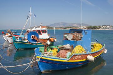 Fischerboote in Mastichari auf der Insel Kos