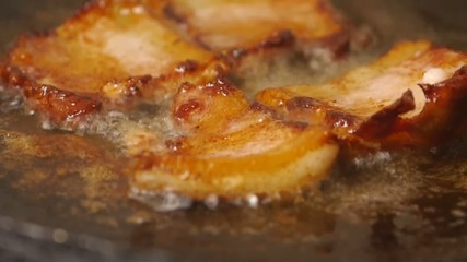 frying pan bacon