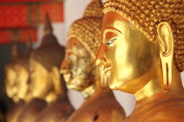 Images of Buddha, Bangkok, Thailand