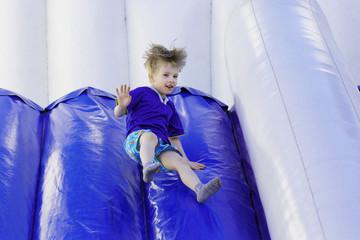 Children's joy of entertainment