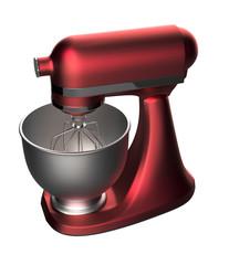 Wine red food mixer