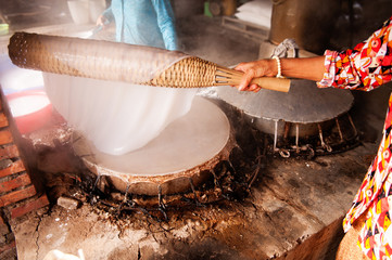 Traditional Rice Paper Making Vietnam