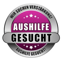 5 Star Button pink AUSHILFE GESUCHT WSV AG