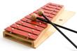 Leinwanddruck Bild - Glockenspiel - Musikalische Früherziehung