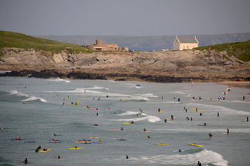 Surfers, Fistral Becah, Newquay
