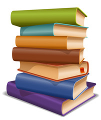 Multi colored books