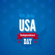 American Independence day vector design template
