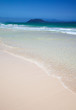 Northern Fuerteventura, Corralejo Flag beach, low tide