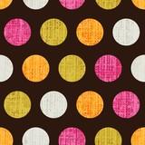 Fototapety seamless retro dot pattern background