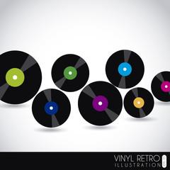 vinyl retro