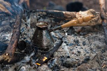 coffee in cezve