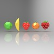 Fruits origami