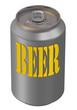 Алюминиевая банка. Пиво