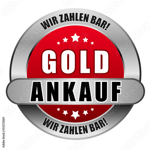 5 Star Button rot GOLD ANKAUF WZB WZB
