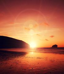 sun flare beach