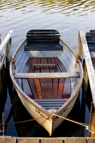 Rowboat at Mooring