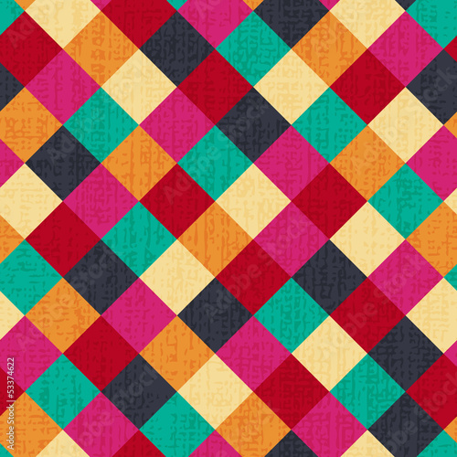 seamless geometric rhombus background