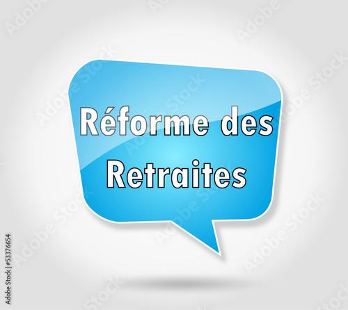 Bulle : réforme des retraites