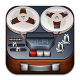 Reel to reel tape recorder app icon