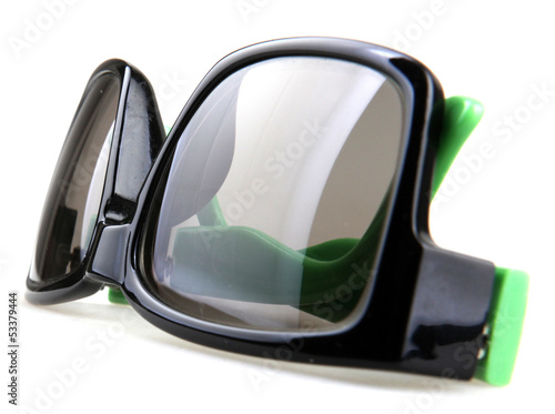 sunglasses isolated on the white background